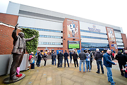A general view of the Blackburn End Stand at Ewood Park ahead of the FA Cup 5th Round tie between Blackburn Rovers and Stoke City - Photo mandatory by-line: Matt McNulty/JMP - Mobile: 07966 386802 - 14/02/2015 - SPORT - Football - Blackburn - Ewood Park - Blackburn Rovers v Stoke City - FA Cup - Fifth Round
