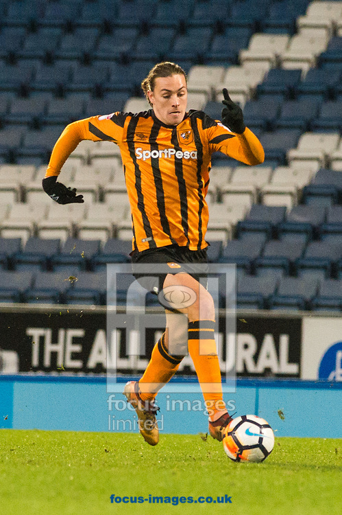 Jackson Irvine of Hull City with a forward run during the FA Cup match at Ewood Park, Blackburn<br /> Picture by Matt Wilkinson/Focus Images Ltd 07814 960751<br /> 06/01/2018