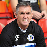 Picture by David Horn/Focus Images Ltd +44 7545 970036<br /> 28/09/2013<br /> Owen Coyle Manager of Wigan Athletic during the Sky Bet Championship match at Vicarage Road, Watford.