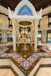 Interior of Souk at Dubai Mall in Dubai United Arab Emirates