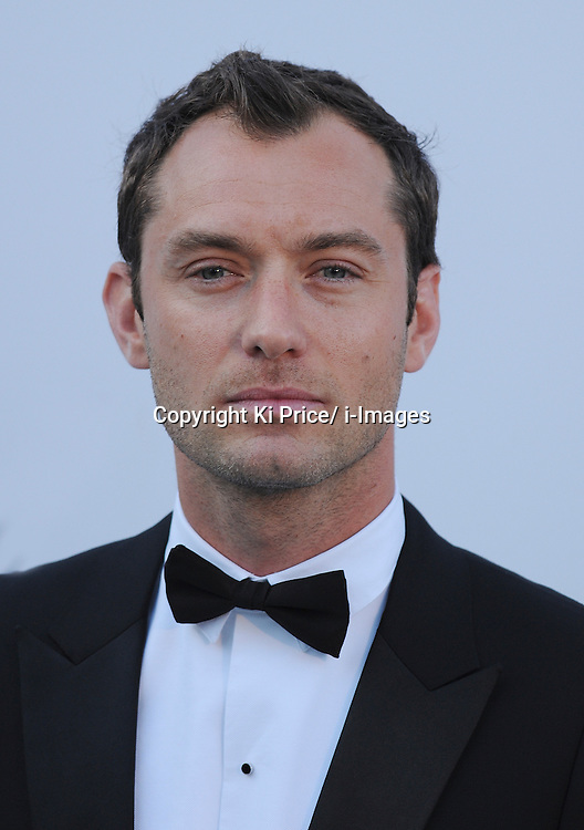 Jude Law at 2011 Cannes Festival. On January 19th 2012 Jude Law received a pay out of &pound;130,00 from News International over phone hacking. Photo By Ki Price/ i-Images<br />