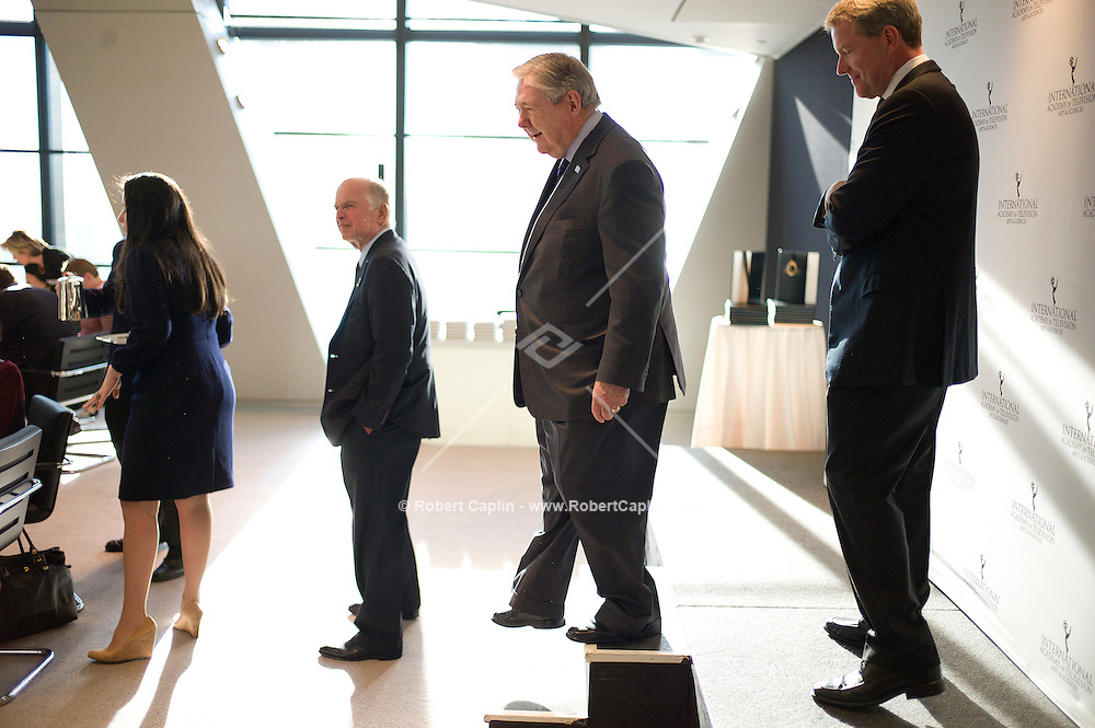 Hearst Corporation CEO Frank A. Bennack, Jr. at the International Emmys Breakfast at Hearst Tower in New York. ..Photo by Robert Caplin