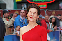 LONDON - JULY 10: Alice Krige attended a special 'Great British Premiere' to mark the re-release of the 1981 film 'Chariots Of Fire' at the Empire Cinema Leicester Square, London, UK. July 10, 2012. (Photo by Richard Goldschmidt)
