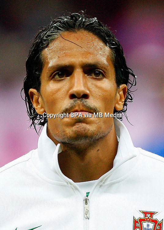 Football Fifa Brazil 2014 World Cup Matchs-Qualifier / Europe - Group F /<br /> Portugal vs Israel 1-1  ( Jose Alvalade Stadium - Lisbon , Portugal ) - <br /> BRUNO ALVES of Portugal , during the match between Portugal and Israel