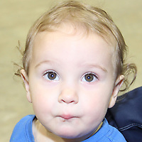 GOOD MORNING<br /> from Troop Fulgham Halford, 14-months who was spotted having fun at Relay For Life Saturday. Troop is the son of Mitchell and Emily Halford of Mantee.