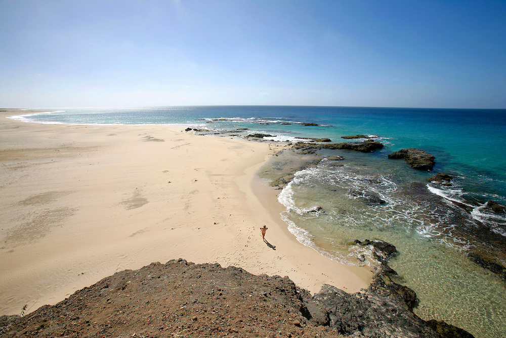 With its vast sand extension, Ponta Preta beach can be seen from the plane when approaching the small airport. This beach is close to Vila do Maio (Maio Village) but locals always warn tourists about the dangerous stream.