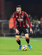 Diego Rico (21) of AFC Bournemouth during the Premier League match between Bournemouth and Brighton and Hove Albion at the Vitality Stadium, Bournemouth, England on 21 January 2020.