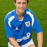 St Johnstone Photocall..2008-09 Season<br /> Chris Millar<br /> Picture by Graeme Hart.<br /> Copyright Perthshire Picture Agency<br /> Tel: 01738 623350  Mobile: 07990 594431