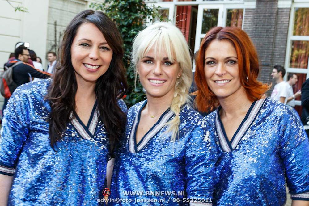 NLD/Amsterdam/20150820 - Najaarspresentatie SBS 2015, K3, Kristel Verbeke, Josje Huisman, Karen Damen