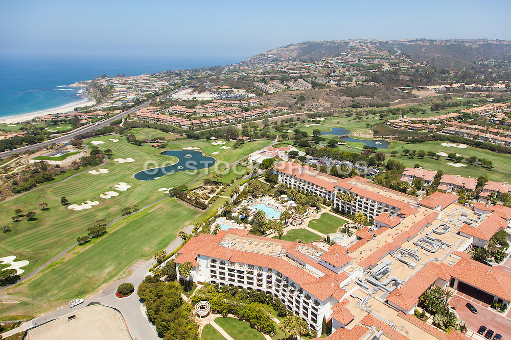 St. Regis Monarch Beach Resort Aerial Stock Photo