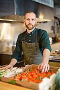 Winter Russel, Chef, portrait éditorial pour le guide Gault et Millau Montreal