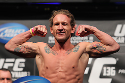 October 7, 2011; Houston, TX.; USA;  Gray Maynard at the weigh-ins for his fight against Frankie Edgar at UFC 136 in Houston.