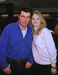 Actor OLIVER TOBIAS and MISS ARABELLA ZAMOYSKA, at a reception in London on 14th January 1999.MNE 9