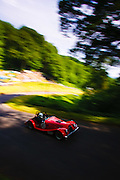 Car number 45 (driven by Mike Hall) at Shelsley Hill climb 6/6/10