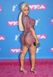 August 21, 2018 - New York City, New York, USA - 8/20/18.Blac Chyna at the 2018 MTV Video Music Awards at Radio City Music Hall in New York City. (Credit Image: © Starmax/Newscom via ZUMA Press)