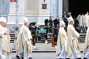 March 10, 2015 - New York, NY. The funeral of former Cardinal Edward Egan was held at St. Patrick's Cathderal on March 10. Those in attendance included Governor Cuomo and Mayor de Blasio 2/10/2015 Photo By Paul Liotta/ NY City Photo Wire