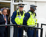 Labour Party Conference <br /> at Manchester Central, Manchester, Great Britain <br /> 23rd September 2014 <br /> <br /> <br /> Police at the conference <br /> <br /> <br /> Photograph by Elliott Franks <br /> Image licensed to Elliott Franks Photography Services