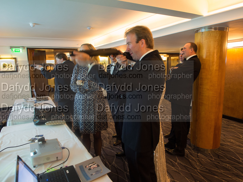 JAMES DUCKWORTH-CHAD, Game & Wildlife Conservation Trust's Ball. Savoy Hotel. London. 6 November 2013.