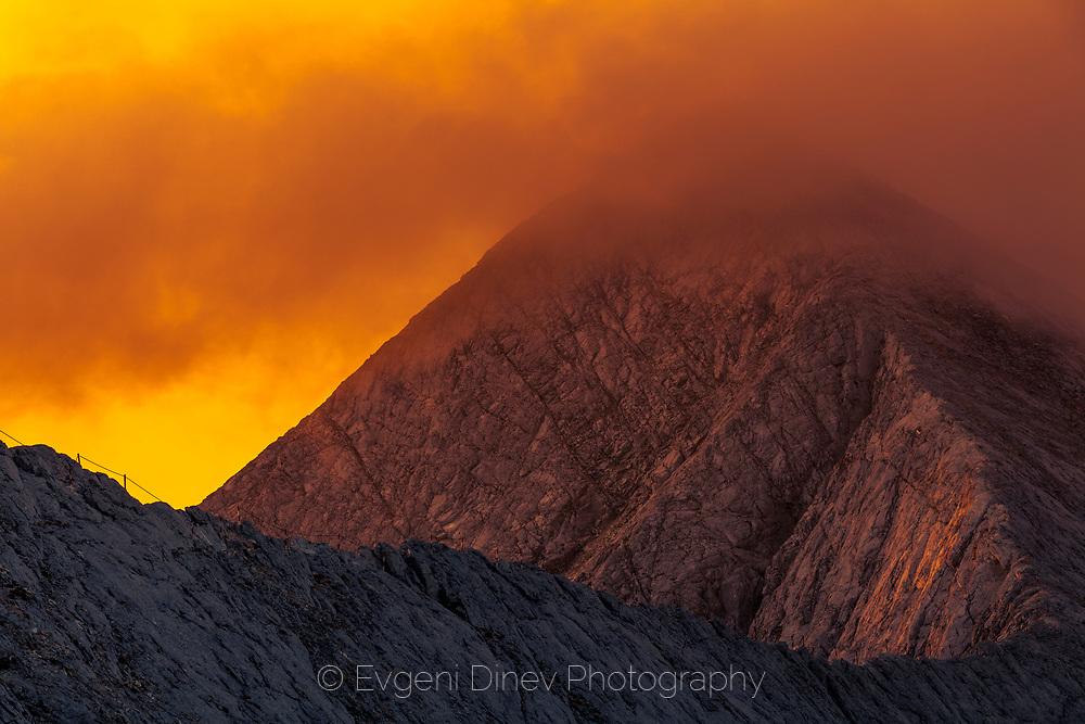 The marble ridge of Pirin Mountain