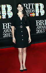 Lana Del Ray  arriving at the BRIT Awards in London, Wednesday,20th February 2013 Photo by: Stephen Lock / i-Images