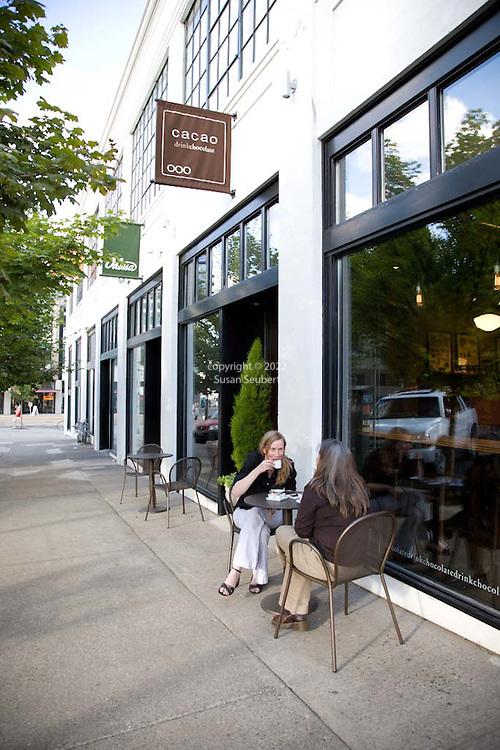 Cacao, a chocolate Bar in Portland, Oregon