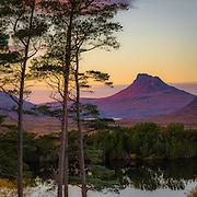 Stac Pollaidh from Loch Cul Dromannan
