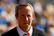 Charlton Athletic Manager Lee Bowyer  during the EFL Sky Bet League 1 Play Off second leg match between Shrewsbury Town and Charlton Athletic at Greenhous Meadow, Shrewsbury, England on 13 May 2018. Picture by Simon Davies.