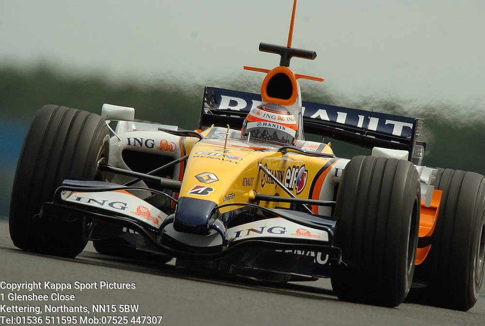HEIKKI KOVALAINEN Renault F1,  Formula One Test Silverstone June 2007 :Photo:Mike Capps