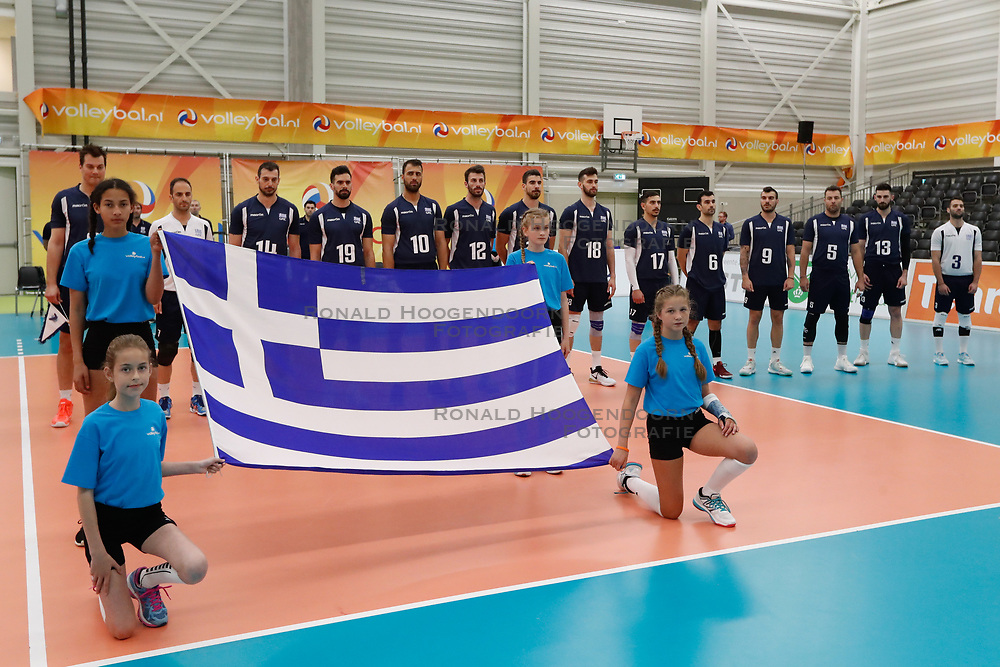 20170524 NED: 2018 FIVB Volleyball World Championship qualification, Koog aan de Zaan<br />Team Greece <br />©2017-FotoHoogendoorn.nl / Pim Waslander