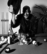 Errol Brown of Hot Chocolate - portrait - London 1989