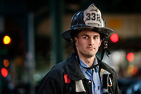 After becoming the youngest lieutenant in the NYFD in 2006, Jason is now with Engine 332 in Brooklyn, and is working towards a master's degree in public affairs at Baruch College in his free time.
