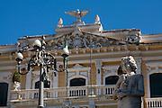Vitoria_ES, Brasil...Palacio Anchieta localizado na regiao da Cidade Alta...Palacio Anchieta located in the Cidade Alta region...Foto: LEO DRUMOND / NITRO