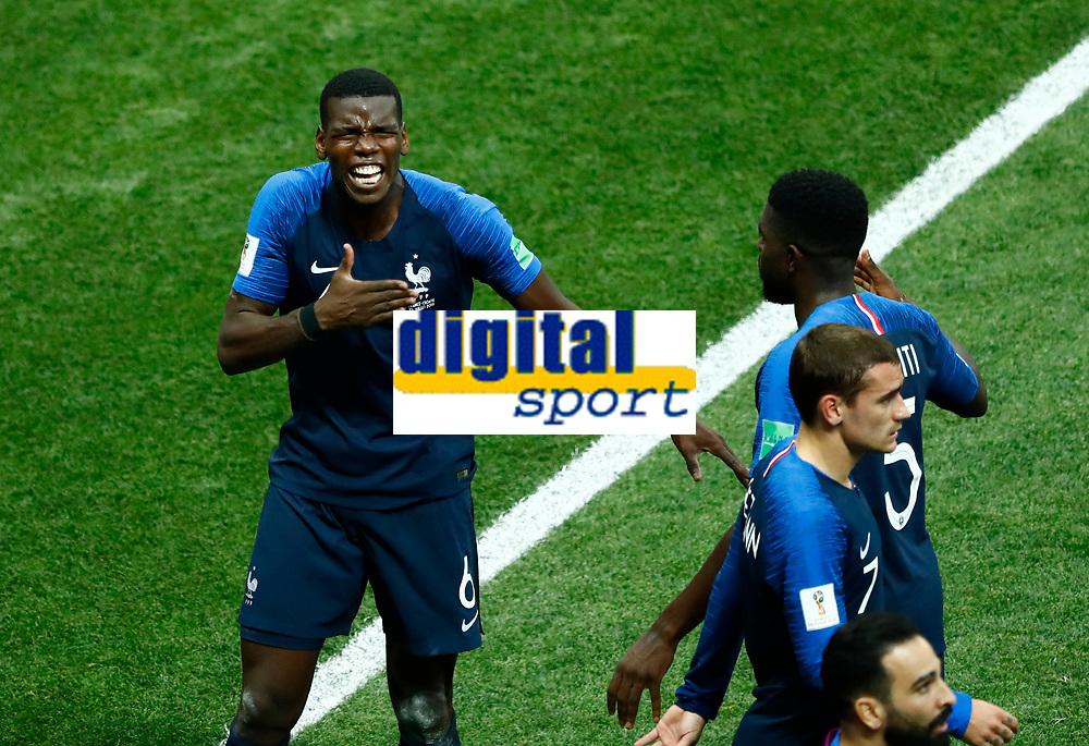 Paul POGBA <br /> Celebration Victory France <br /> Moscow 15-07-2018 Football FIFA World Cup Russia  2018 Final / Finale <br /> France - Croatia / Francia - Croazia <br /> Foto Matteo Ciambelli/Insidefoto