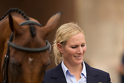 Zara Philips, (GBR), High Kingdom - First Horse Inspection  - Alltech FEI World Equestrian Games™ 2014 - Normandy, France.<br /> © Hippo Foto Team - Dirk Caremans<br /> 25/06/14