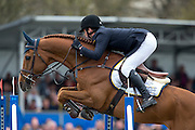 Vincent Voorn - Gestion Priamus Z<br /> Nederlands Kampioenschap Springen 2013<br /> © DigiShots