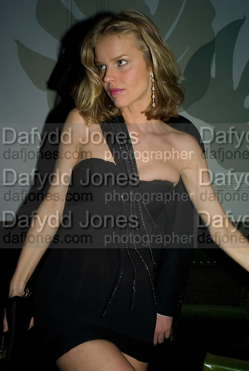 Eva Herzigova, Weinstein Bafta after-party in association with Chopard. Bungalow 8. London. 10  February 2008.  *** Local Caption *** -DO NOT ARCHIVE-© Copyright Photograph by Dafydd Jones. 248 Clapham Rd. London SW9 0PZ. Tel 0207 820 0771. www.dafjones.com.