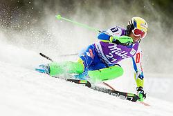 VALENCIC Mitjaof Slovenia competes during 1st Run of Men's Slalom - Pokal Vitranc 2012 of FIS Alpine Ski World Cup 2011/2012, on March 11, 2012 in Vitranc, Kranjska Gora, Slovenia.  (Photo By Vid Ponikvar / Sportida.com)