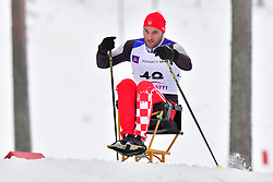 ZIMA Josip, CRO, LW10.5 at the 2018 ParaNordic World Cup Vuokatti in Finland