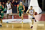 DESCRIZIONE : Roma Eurocup 2014/15 Acea Roma Baloncesto Seville<br /> GIOCATORE : Brandon Triche<br /> CATEGORIA : palleggio contropiede<br /> SQUADRA : Acea Roma<br /> EVENTO : Eurocup 2014/15<br /> GARA : Acea Roma Baloncesto Seville<br /> DATA : 29/10/2014<br /> SPORT : Pallacanestro <br /> AUTORE : Agenzia Ciamillo-Castoria /GiulioCiamillo<br /> Galleria : Acea Roma Baloncesto Seville<br /> Fotonotizia : Roma Eurocup 2014/15 Acea Roma Baloncesto Seville<br /> Predefinita :