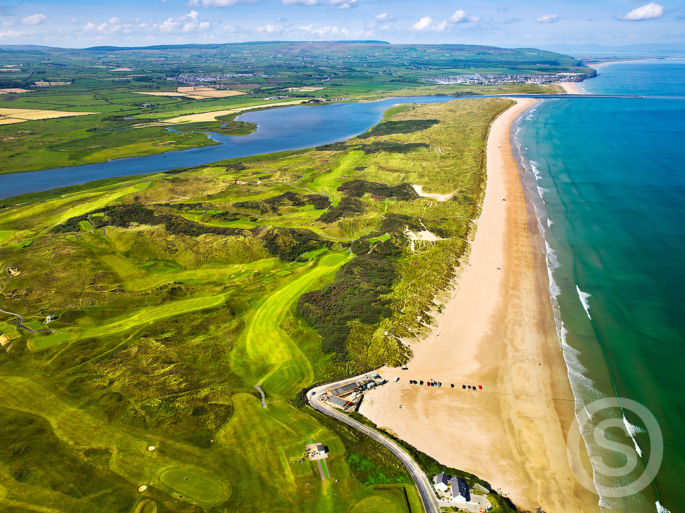 Photographer: Chris Hill, Aerial View of Portstewart Golf Club