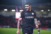 Alex Mowatt of Barnsley (27) during the EFL Sky Bet League 1 match between Doncaster Rovers and Barnsley at the Keepmoat Stadium, Doncaster, England on 15 March 2019.