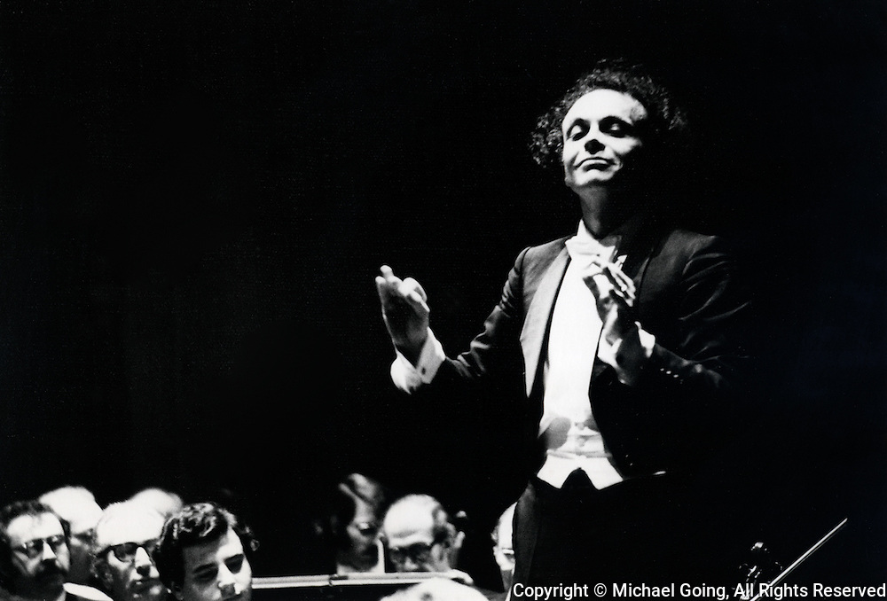Lorin Maazel, guest conductor, La Philharmonic  February 1973  Bartok Deux Images, Op 10<br /> Scriabin: Piano concerto<br /> Tchaikovsky: Manfred Symphony<br /> Piano soloist Vladimir Ashkenazy
