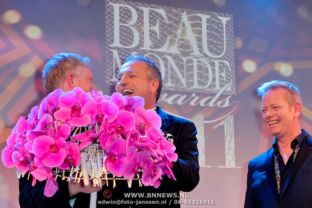 NLD/Amsterdam/20111124 - Beau Monde Awards 2011, Gordon Heuckeroth en John Lukken