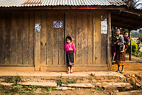 Early morning in Khon Kahndone Village, Xieng Khouang province, Laos.