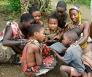 Child of the Datoga tribe, Lake Eyasi, northern Tanzania