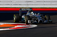 HAMILTON Lewis (Gbr) Mercedes Gp Mgp W05 Action  during the 2014 Formula One World Championship, Russia Grand Prix from October 9th to 12th 2014 in Sotchi, Russia. Photo Florent Gooden / DPPI.