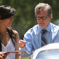 Inductee and trainer Freddie Roach as seen in the parade prior to the 23rd Annual International Boxing Hall of Fame Induction ceremony at the International Boxing Hall of Fame on Sunday, June 10, 2012 in Canastota, NY. (AP Photo/Alex Menendez)