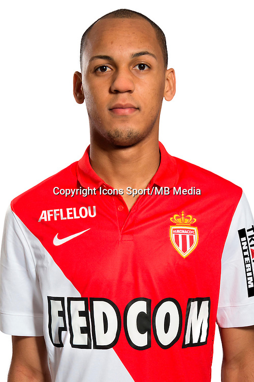 FABINHO - 29.08.2014 - Photo officielle Monaco - Ligue 1 2014/2015<br /> Photo : Stephane Senaux / AS Monaco / Icon Sport