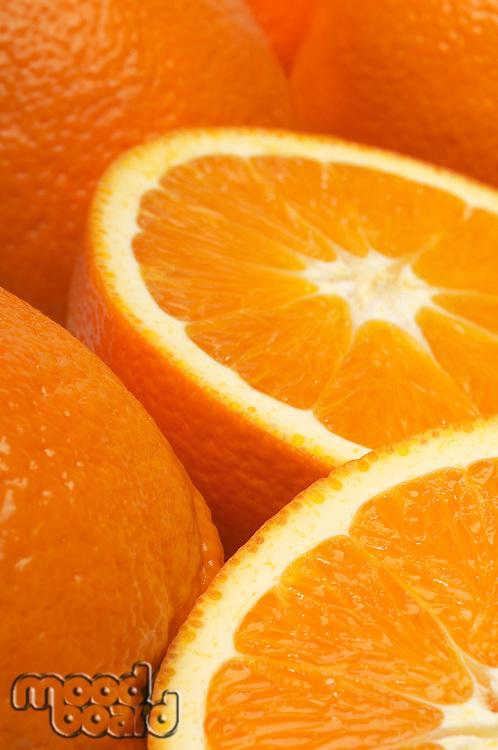 Oranges, close-up