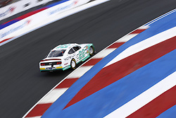 September 27, 2018 - Concord, North Carolina, United States of America - Austin Cindric (22) brings his car through the turns during practice for the Drive for the Cure 200 at Charlotte Motor Speedway in Concord, North Carolina. (Credit Image: © Chris Owens Asp Inc/ASP via ZUMA Wire)